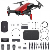Квадрокоптер DJI MAVIC AIR Fly More Combo Flame Red (CP.PT.00000169.01)