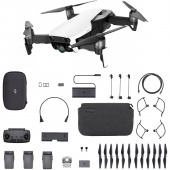 Квадрокоптер DJI MAVIC AIR Fly More Combo Arctic White (CP.PT.00000168.01)